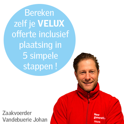 VELUX calculator 5 stappen